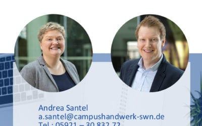 Mitarbeiterportraits für das Campus Handwerk Süd-West Niedersachen